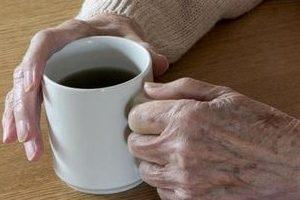 Zitternde Parkinson-Hände